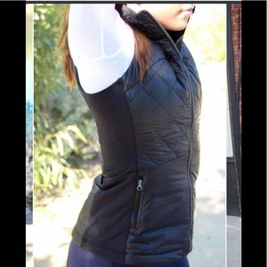Lululemon Black Vest Size 2 Brand New